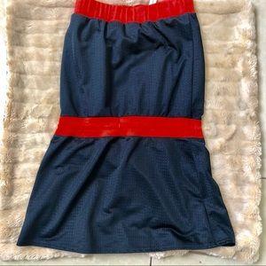 Nike Dresses - Nike black red strapless Tennis mini dress S